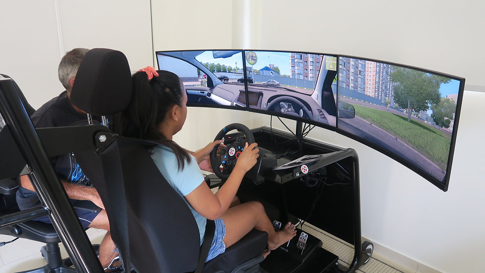 Driving simulator lessons