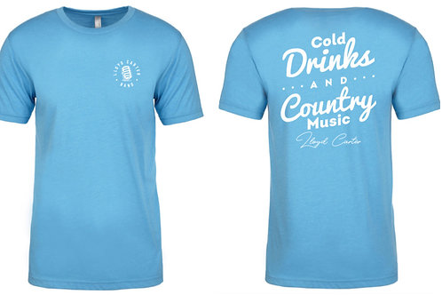 Cold Drinks And Country Music T-shirt
