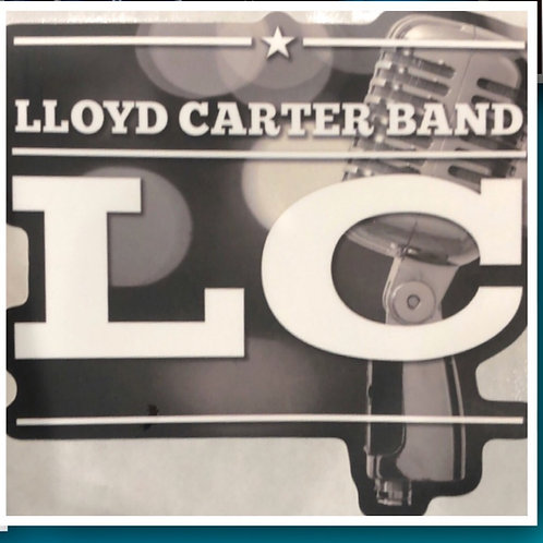 Lloyd Carter Band Die Cut Decal