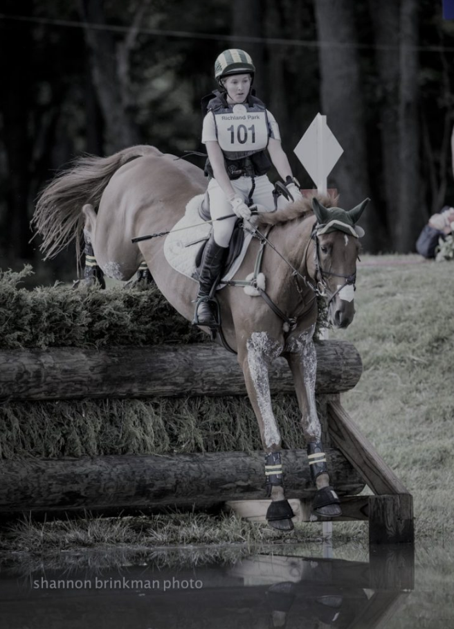 Cooley Dawn Raid and Paige Crotty at Richland Parks CCI3*