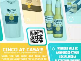 Win Cinco at Casa! May 1-5