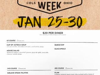 Join us for 614 Restaurant Week - January 25-30
