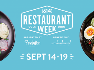 Join us for 614 Restaurant Week - September 14-19