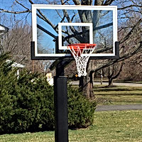 MegaSlam Basketball Hoop Installation