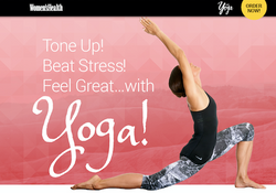 """""""With Yoga"""" by Women's Health"""