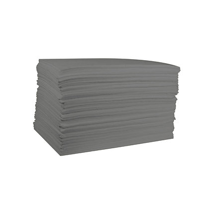 Front view of grey general purpose absorbent pads