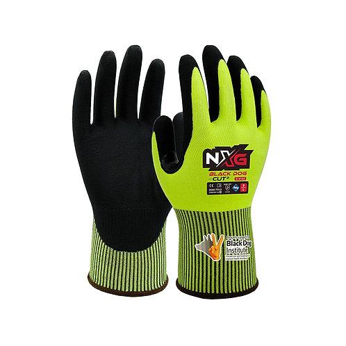 Black Dog Cut D Hi-Vis Vend Ready Gloves