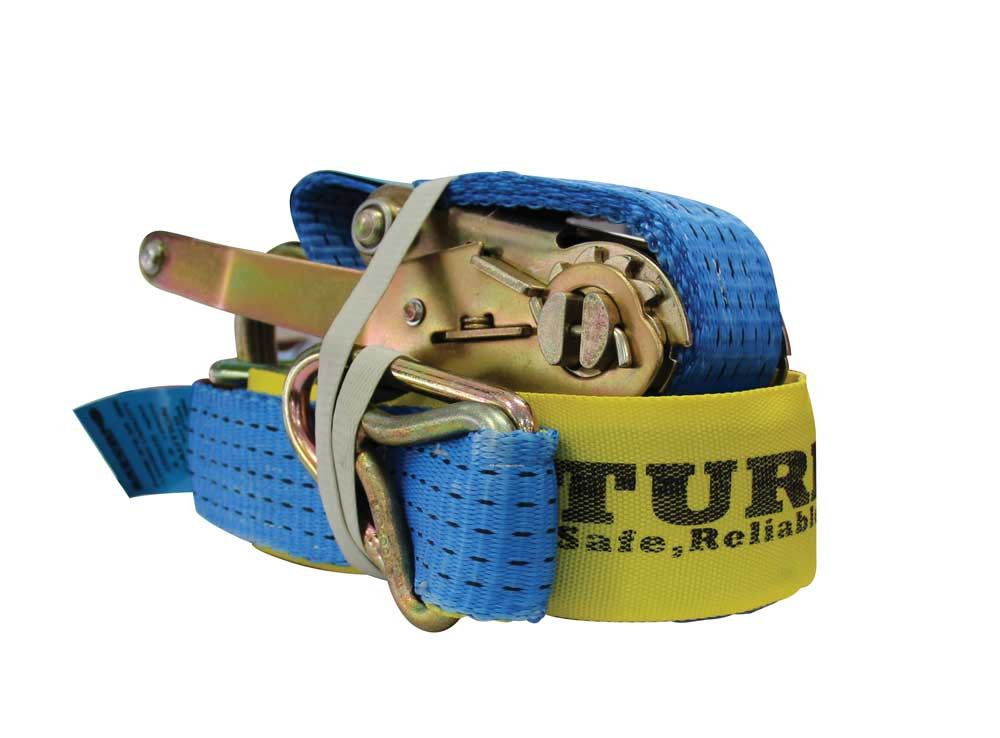 Ratchet Tie Down Straps Secure Cargo Transport