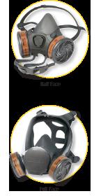 Full and Half Face Respirators