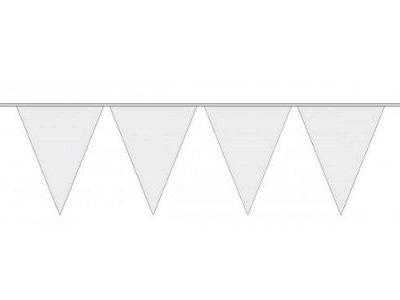 Bunting – White, 30m
