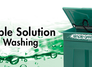 A Simple Solution to Parts Washing