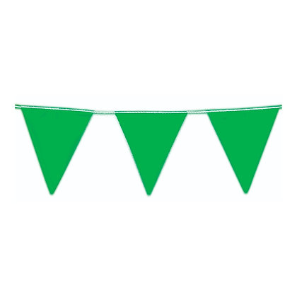 Bunting – Green, 30m