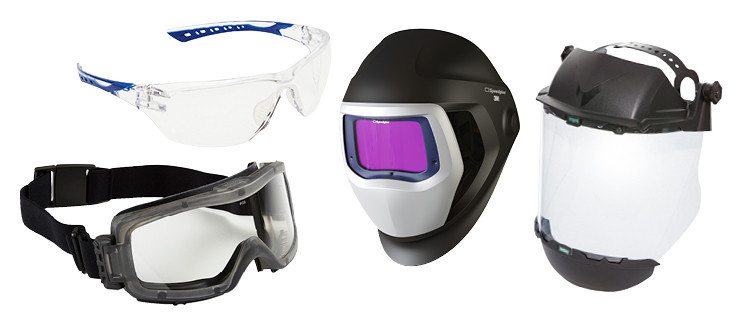 Types of Eye & Face Protection