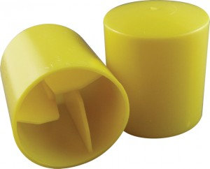 Cap, Star Picket - Plastic, Yellow