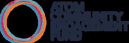 ATOM Community Engagement Fund Logo, ACE Fund