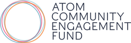 Atom community engagement fund logo