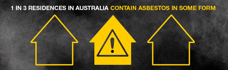 1 in 3 residences in Australia contain asbestos in some form
