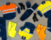 Endurite Flat Lay of Workwear
