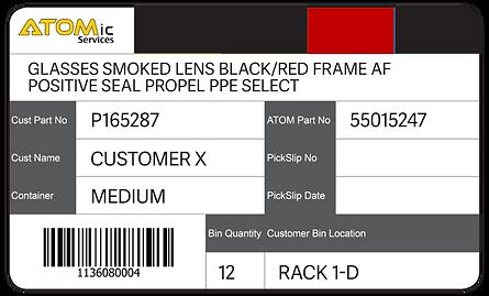 Example KanbanPRO label