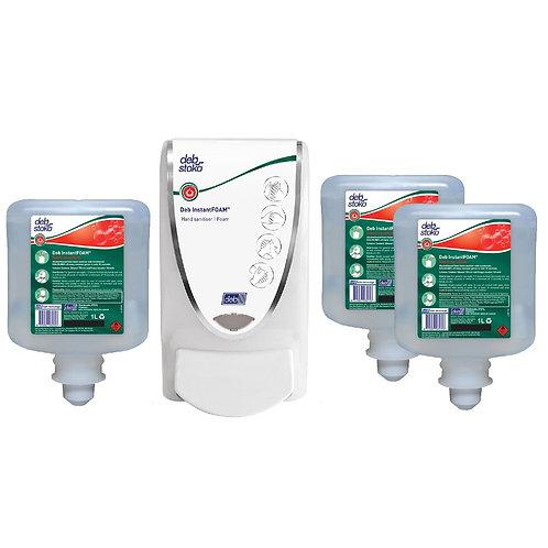 Sanitiser InstantFOAM Starter Pack 1L