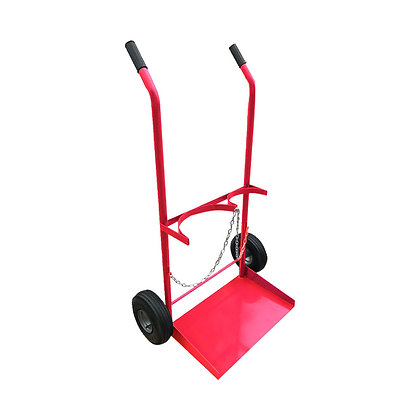 Gas Cylinder Trolley – Size G, Pneumatic Wheels