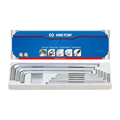 Extra Long Hex Key Set - Imperial, 9 Piece