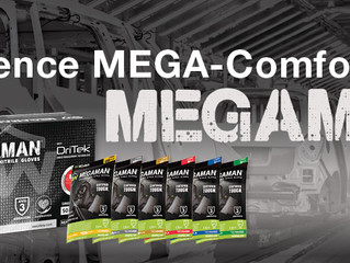 Experience Mega-Comfort with MEGAMAN®