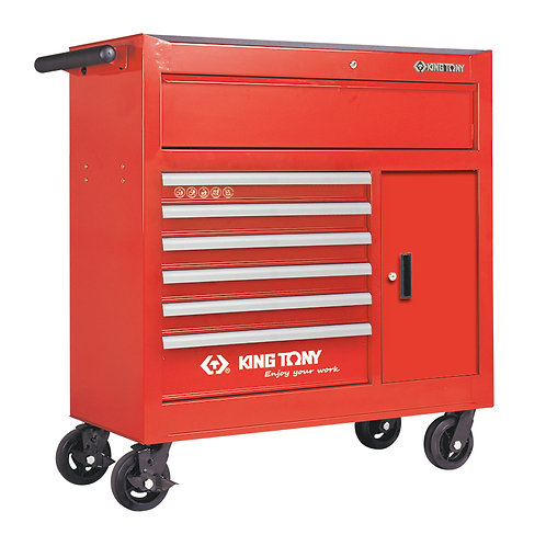 7 Drawer Tool Trolley Cabinet