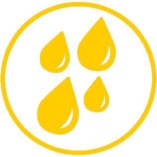Type 3: Protection against Liquid