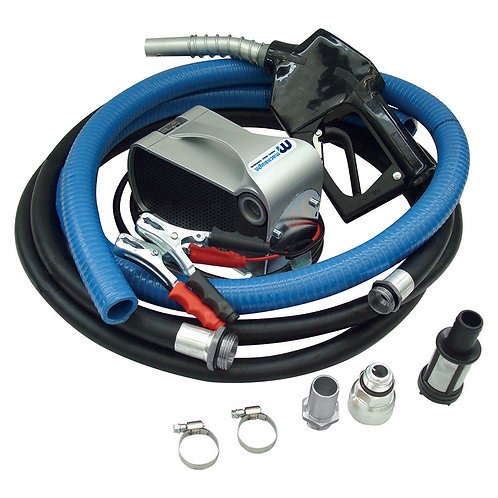 Fuel Dispensing System Battery Powered Diesel Automatic Nozzle 12V 40L/min