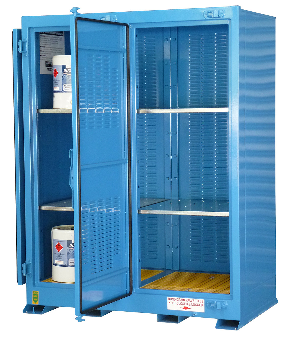 Dangerous Goods Storage Cabinet Work