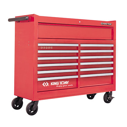 13 Drawer Tool Trolley Cabinet, Extra Wide