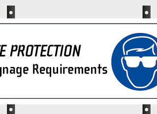 Eye Protection Signage Requirements