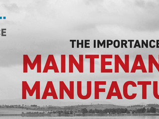 The Importance of Maintenance in Manufacturing