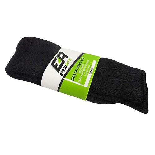 Bamboo Socks - Black, Men's Sizes