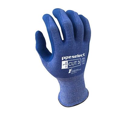 back view blue cut 3 PCFA glove