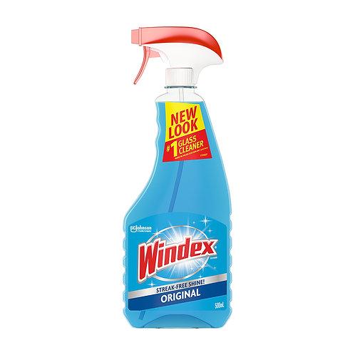 Windex Original Glass & Window Cleaner Trigger Pack 750ml