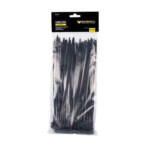 Cable Tie UV Resistant 250 x 4.8mm 100 Pack