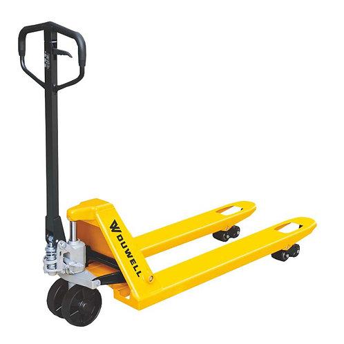 Pallet Jack Trolley Double PU Wheel 2.5t