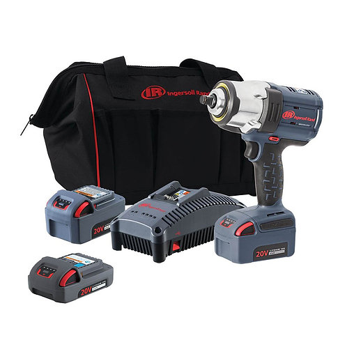 "1/2"" Cordless Impact Wrench Kit with Bonus Battery"