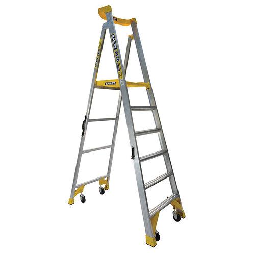 Platform Ladder Job Station Aluminium 1.8m