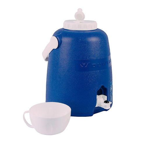 Cooler Jug With Tap Blue 5L