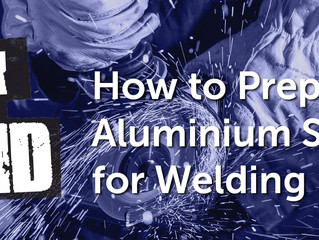 How to Prepare an Aluminium Surface for Welding