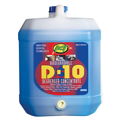D-10 Water Based Degreaser 20L