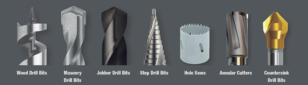 drill bit types