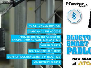 Masterlock's Bluetooth Smart Padlock
