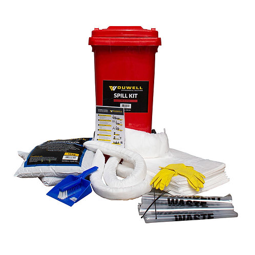 Spill Kit Oil & Fuel 120L