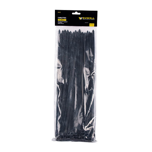 Cable Tie UV Resistant 380 x 7.8mm 100 Pack