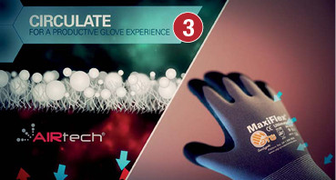 ​ ​​  ​CIRCULATE FOR A PRODUCTIVE GLOVE EXPERIENCE