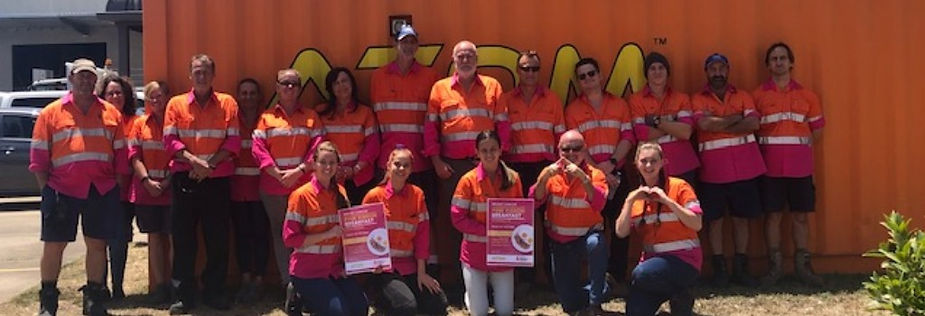 ATOM Mackay Team Breast Cancer Pink BBQ Fundraiser